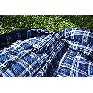 7c72512e13d Agemore Cotton Flannel Sleeping bag for Adults
