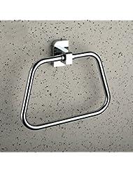 Anillo de toalla Cuarto de baño europeo Cuarto de baño Cuadrado Toallero Toallero Colgante