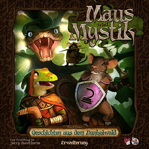 Plaid Hat Games PHGD0008 Maus und Mystik-Geschichten aus dem Dunkelwald Erweiterung Deutsch -