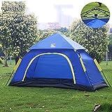 Outdoor professionnel Camping randonnée Tentes Single Double 3-4 personnes Marchandises de voyage étanche Tentes