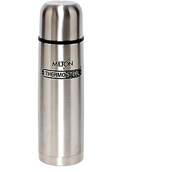Milton Thermosteel Flip Lid Flask, 750 milliliters, Silver