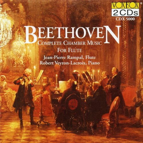 Beethoven: Chamber Music For Flute (Complete) (Rampal)