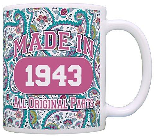 Made 194375. Geburtstag Geschenk Kaffee Becher Tee Tasse 11 ounce paisleymuster (Mama Für Geburtstag Party-ideen 75.)