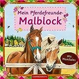 Mein Pferdefreunde-Malblock