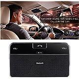 Dland Bluetooth 4.0 Visor Freisprecheinrichtung Freisprecheinrichtung Car Kit für iPhone, Samsung, HTC und alle anderen Handys