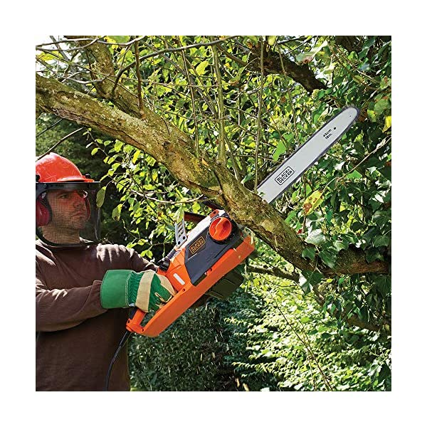 BLACK+DECKER CS2245-GB Corded Chainsaw, 45 cm, 2200 W 2