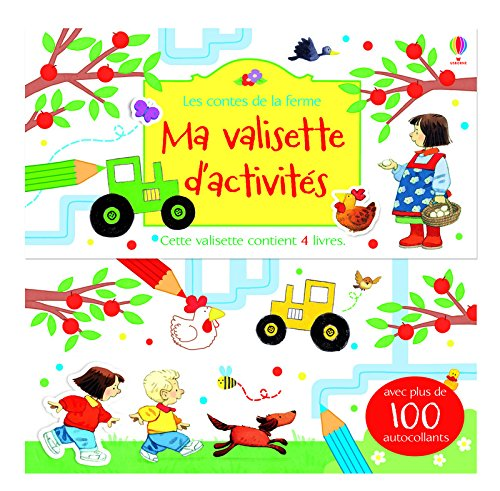 Ma valisette d'activités - Les contes de la ferme par Collectif