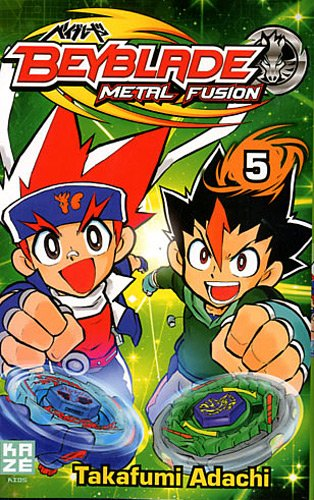 Beyblade Metal Fusion / Masters / Fury Edition simple Tome 5