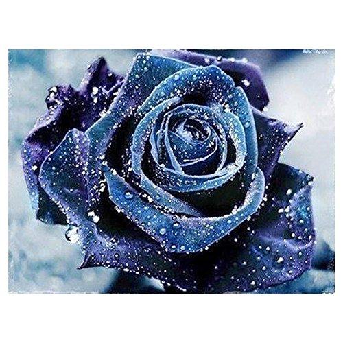 Blue Rose Diamond Painting Stickerei 5D DIY Kreuzstich Home Decor Geschenk