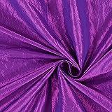 Fabulous Fabrics Taftstoff Crash – lila — Meterware ab