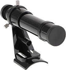 perfk Skywatcher 5x24 Sucherfernrohr mit Halterung, Schwarz