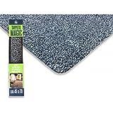 tex family magische Fußmatte grau rutschfest für den Eingang