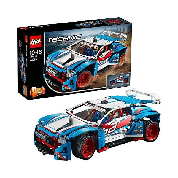 LEGO- Technic Auto da Rally, Multicolore, 42077 1 spesavip