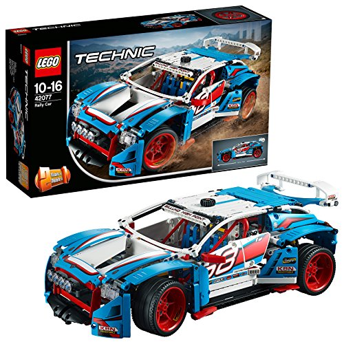 LEGO 42077 Technic Rally Car Toy, 2in1 Buggy Model,  Racing Construction Set