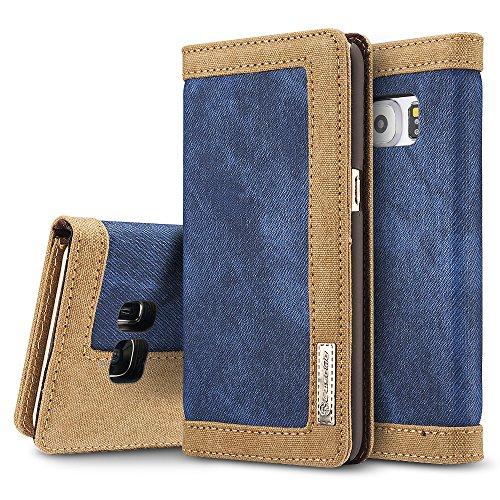 galaxy-s7-edge-fall-belk-cowboy-blau-jeans-leder-flip-cover-kratzschutz-jeans-mappe-starke-leinwand-
