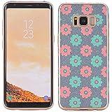 Étui Samsung Galaxy S8, Électro Samsung Galaxy S8 Étui Ultra-Slim anti-rayures Slim Anti-Shock flexible en caoutchouc 360 Étui double avant doux pour téléphone portable Téléphone intelligent
