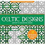 Celtic Designs Adult Coloring Book (31 stress-relieving designs) (Studio)