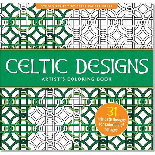 Celtic Designs Artist's Coloring Book (Studio)