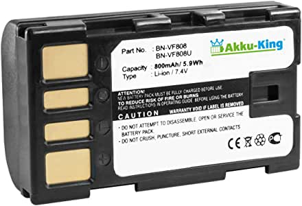 Akku Kompatibel Mit Jvc Gr D720ek D720ex Gz Hd10 Elektronik