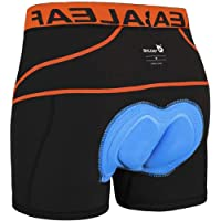 BALEAF Men's Cycling Underwear Padded Cycle Undershorts MTB Bike Shorts