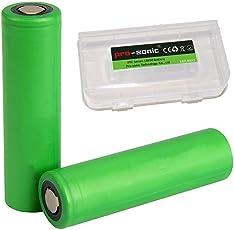 Pro-sonic 2X US 18650 VTC6 INR 18650 Akku Accu batterien (3000mAh/3,7V/30A/Li-Ion) 18650 Akkus für Elektronische Zigarette