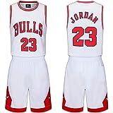 Conjunto de camisetas para niños-Chicago Bulls No. 23 jersey Camiseta de baloncesto Chaleco Top Summer Shorts para niños y ni