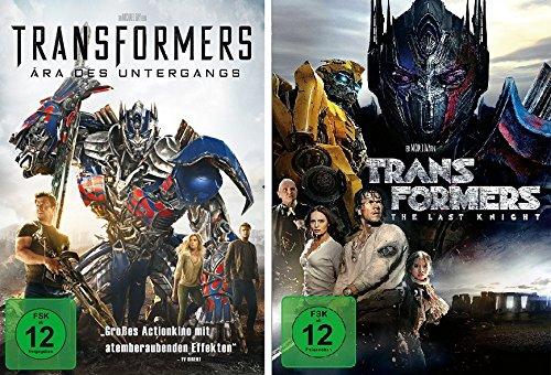 Transformers 4 + 5 im Set - Deutsche Originalware [2 DVDs]