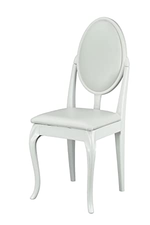 Marvelous White Dressing Table Bedroom Chair With Cabriole Legs And White