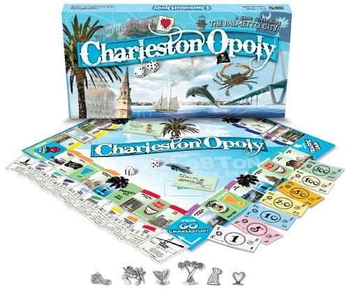 Late for the Sky CHRL Charleston-opoly Brettspiel