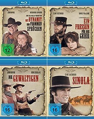 Western Collection | Sinola + Ein Fressen für die Geier + Mit Dynamit und frommen Sprüchen + Die Gewaltigen