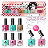Best Pop Nail Polish Sets - 6 x Luxury Nail Polish 6 Different Pastel Review
