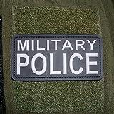 3-D Rubber Patch - MILITARY POLICE MP Feldjägern Polizist Armee Wappen Bundeswehr Uniform US Army Abzeichen 10x5cm #16261