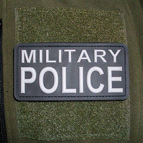 3-D Rubber Patch - MILITARY POLICE MP Feldjägern Polizist Armee Wappen Bundeswehr Uniform US Army Abzeichen 10x5cm #16261 (Abzeichen Patch Uniform)