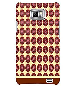 PrintDhaba Pattern D-1511 Back Case Cover for SAMSUNG GALAXY S2 (Multi-Coloured)