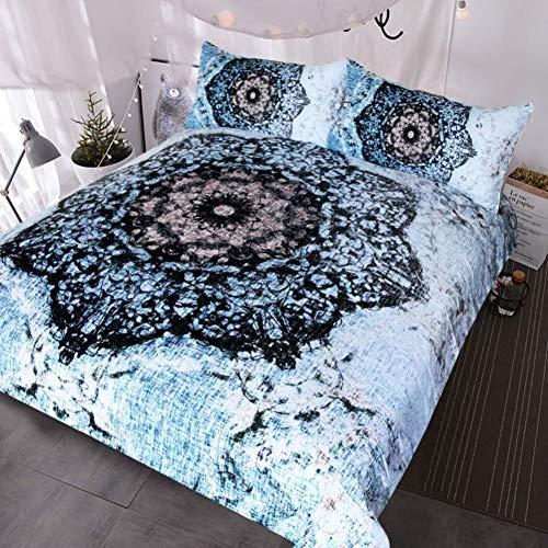 gesetzt Produktbeschreibung Kaufen Sie Dieses Produkt Tie Dye 3 Pezzo Acquerello Blu Tye Dye Set Letto Super Soft Vinatge Hippie Copripiumino-Queen 4pcs ()