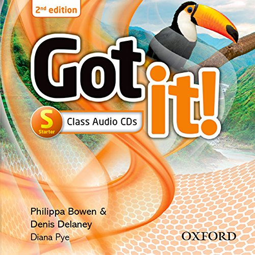 Got It! Plus (2nd Edition) Starter. Class Audio CD (Got It Second Edition)