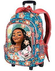 Trolley VAIANA Disney sac à dos à roulette VAIANA moana fleur de tiare 2017