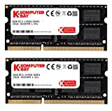 "Komputerbay 16GB Kit (2 x 8 GB) 204 pin DDR3-1867 1867MHz SO-DIMM (1866MHz / 1867MHz, PC3-14900) passend für Apple iMac Retina 27"" 5K (Late 2015) and PC"