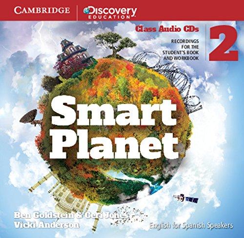 Smart Planet Level 2 Class Audio CDs (4) - 9788483236444
