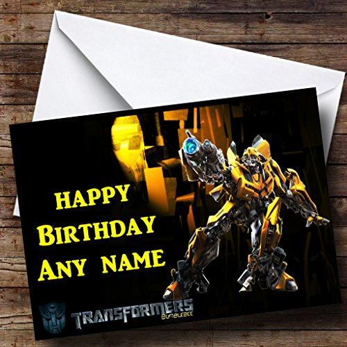 Bumble Bee Ali-Biglietto di auguri di compleanno, Transformers