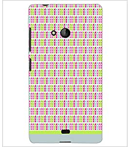 PrintDhaba Mobile Pattern D-1510 Back Case Cover for MICROSOFT LUMIA 540 (Multi-Coloured)