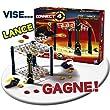 Hasbro - 987901010 - Jeu d'action et de R�flexe - Puissance 4 Flip