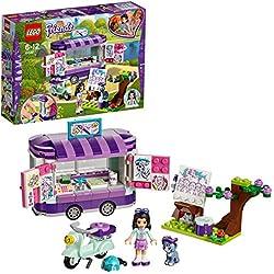 Lego Friends 41332 - Lo Stand Dell'Arte di Emma