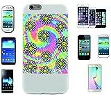 Teléfono Móvil 'Rainbow con flores y muchos colores' para Apple Samsung- LG- Huawei- Sony- HTC/Teléfono celular tapa para iPhone 4,5,6,7- Galaxy s2,3,4,5,6,7- -- p9- con Smiley- Emoji Sony XPERIA Z 5 Compact