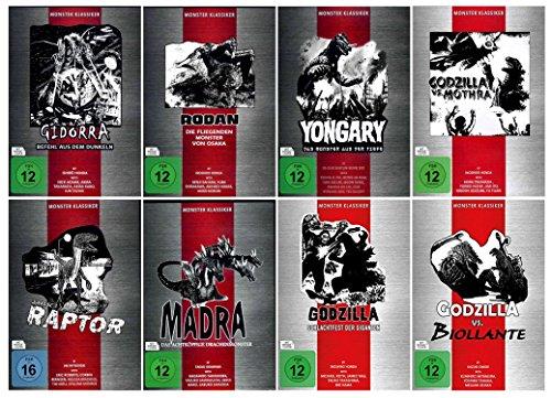 DIE GODZILLA BOX - Monster Collection Fan Editon ( 8 Godzilla Klassiker ) [8 DVDs]