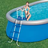 Bestway Leiter für Pools 3Stufen + Plattform-Höhe 122cm