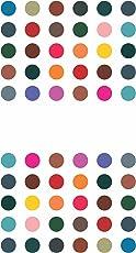 Sunaina Women's Matching Plaza Round Bindis, Size-3 (Multicolour, MP609)