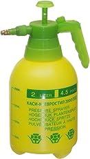 LuxuryDox 2 Liter Pesticides Pressure Sprayer Bottle Manual ,Yellow