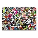 A4 Sheet Sticker Bomb Vinyl Wrap Car Bike Scooter Laptop Skate Cool Kids #6216