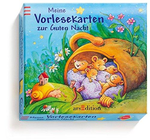 Preisvergleich Produktbild Meine Vorlesekarten zur Guten Nacht (Vorlesekarten-Pappe)
